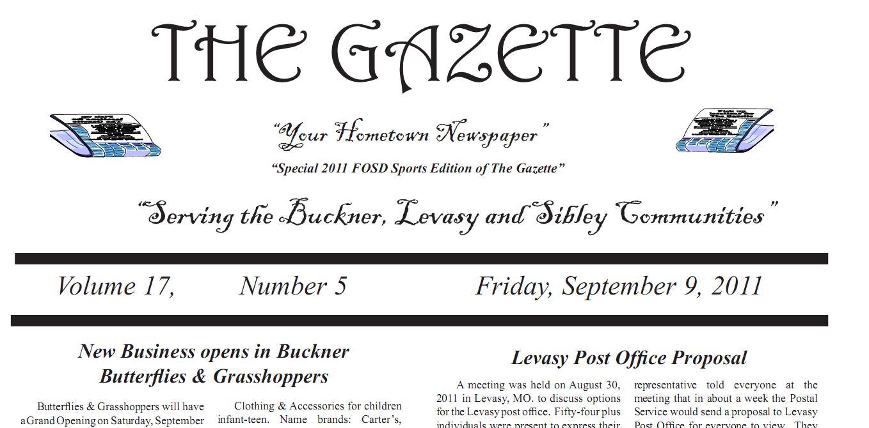 September 9, 2011 – Newspaper Online