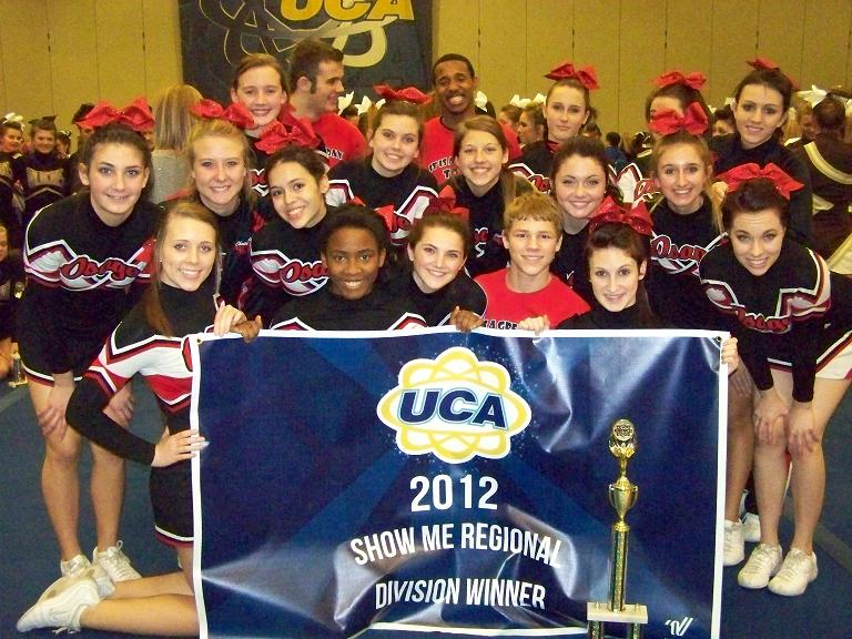 Fort Osage Cheerleaders Capture 1st Place